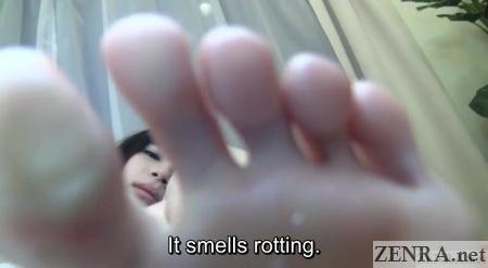 smelly feet japanese av