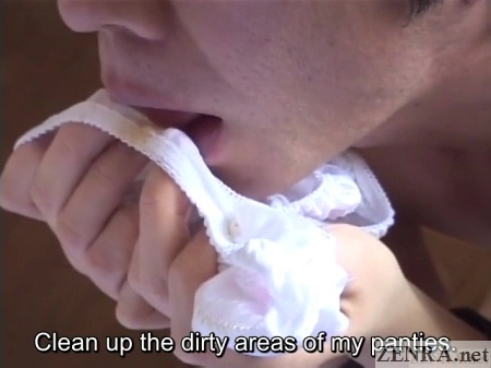 dirty panties licked by devout yapoo