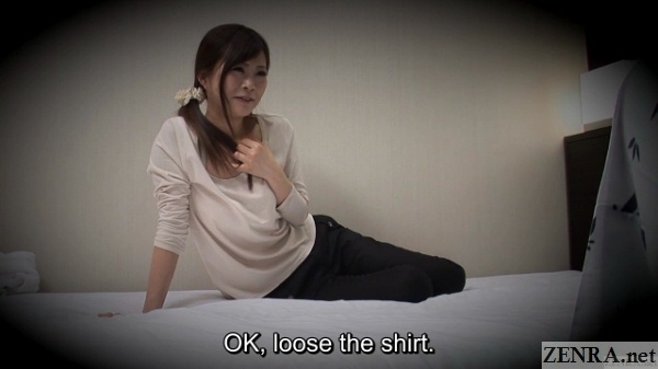 japanese photographer instructs masseuse to strip