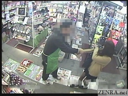 shoplifting schoolgirl caught