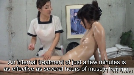 oiled up lesbian massage in japan