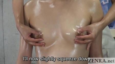 oiled up lesbian nipple massage