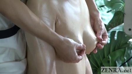 japanese lesbian nipple massage close up