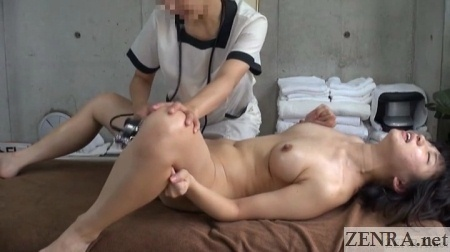 Apologise, can japanese lesbian massage orgasm for