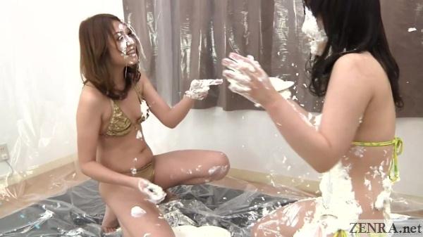 japanese av stars wet and messy game
