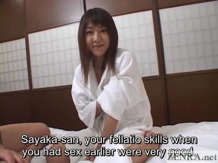 japanese wife blowjob talk