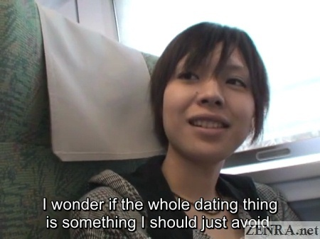 shinkansen ride with first time lesbians