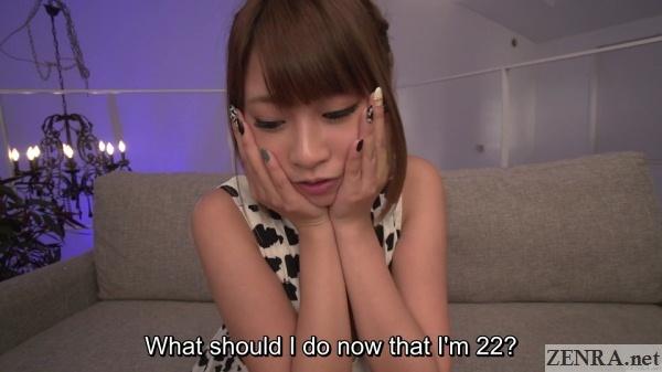 birthday girl hitomi kitagawa worries about future