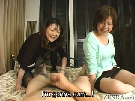 cfnm orgasm with female audience
