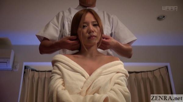 saijou ruri face massage
