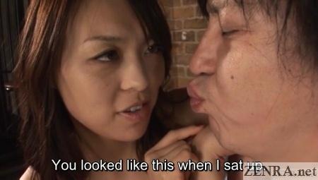 lewd reiko nakamori teases slave
