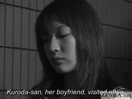 black and white japanese schoolgirl