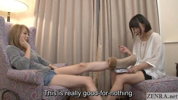 rude gyaru with shinomiya yuri