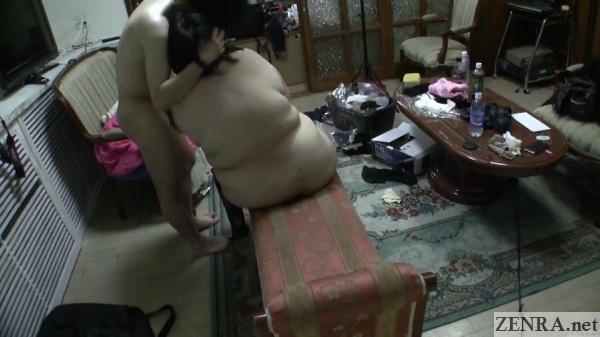 japanese bbw amateur michiko after coitus