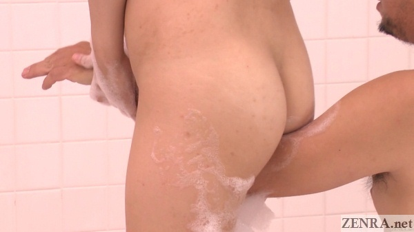 japanese soapland soapy crotch on arm