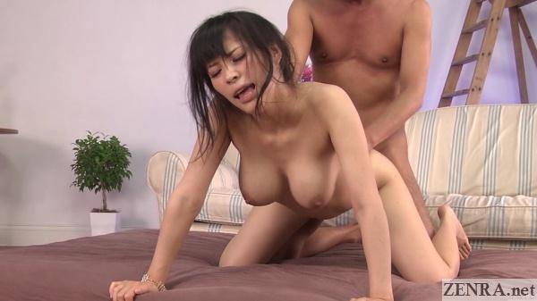 japanese kyoko maki rear sex huge breasts hanging