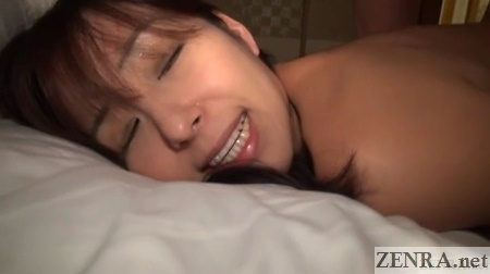 close up orgasming japanese milf during sex
