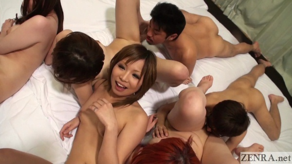 japanese amateur oral sex orgy