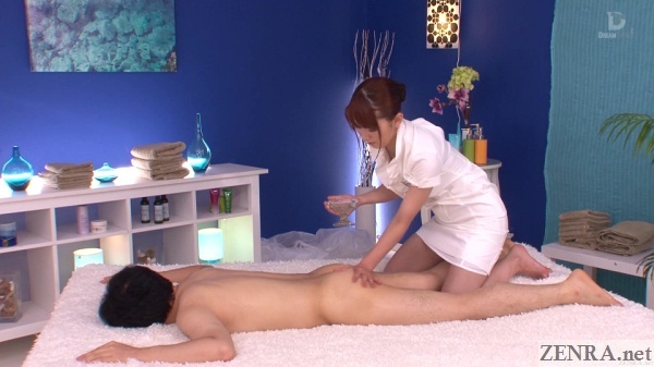 cfnm japanese erotic butt massage