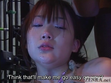 drooling hasegawa chihiro extreme ff femdom