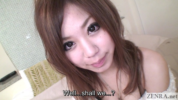sexual play begins with gyaru