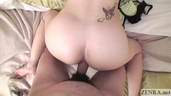 uncensored pov rear sex with gyaru