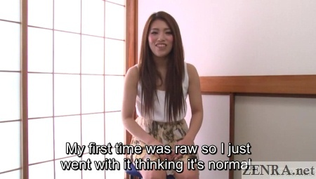 raw sex talk with japanese av star