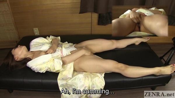 kimono clad japanese amateur has an orgasm