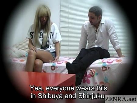 short shorts shibuya fashion gyaru