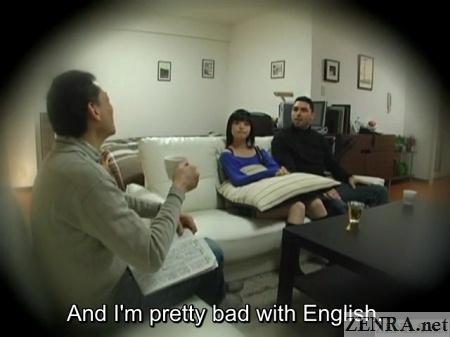 talking over tea in japan