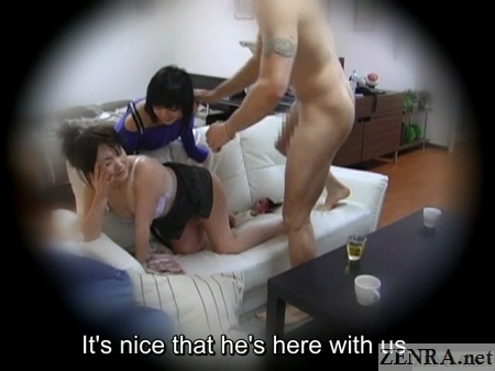 japanese homestay sex with everyone