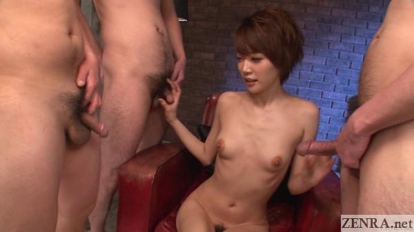 uncensored dicks and a naked yuuki makoto