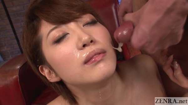 japanese uncensored facial