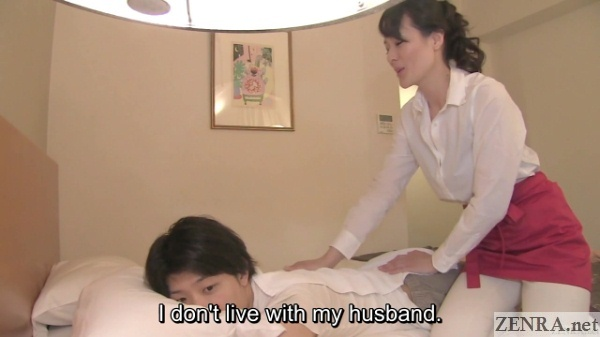 japanese massage therapist divorcee