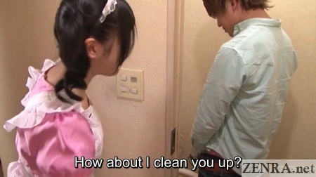 japanese maid toilet cleaning service