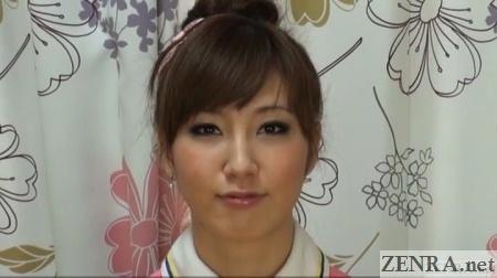 kurumi wakaba face close up