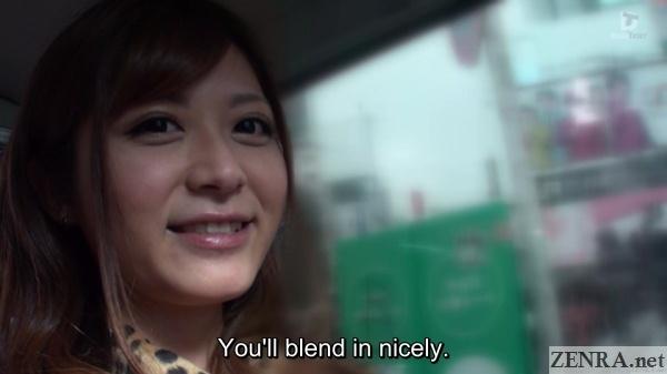 satou haruki in car in tokyo