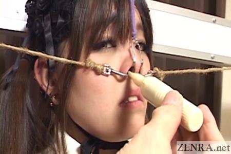 nose vibrator bizarre bondage