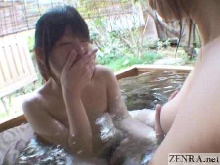 japanese lesbian totally overwhelmed