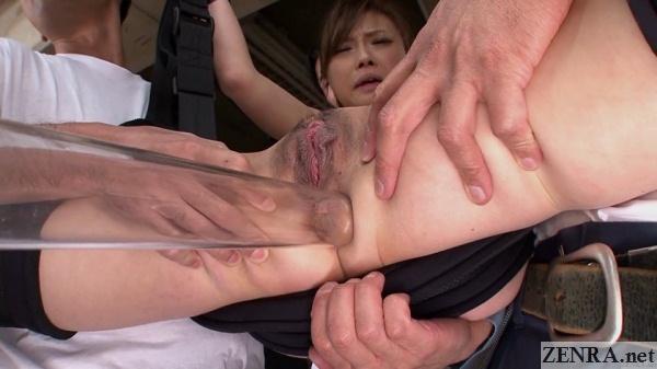 uncensored vacuum around anus of ayumu sena
