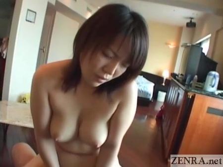 pov cowgirl sex with iwasaki kei