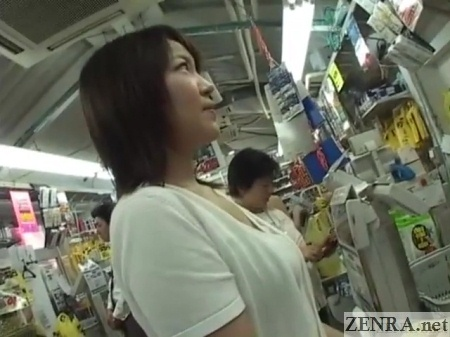 Subtitled pale and curvy japanese wife masturbation in car 7