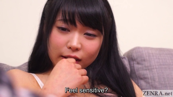blushing yui kawagoe from sex toy play