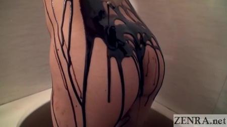 chocolate covered cross dresser butt