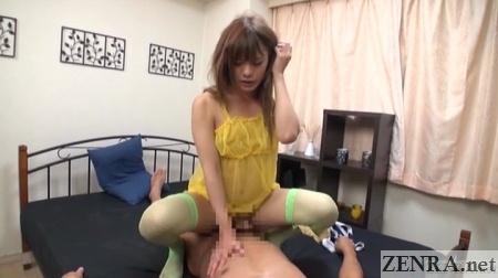 cowgirl anal sex with oshima kaoru