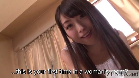 pet first time in girls room