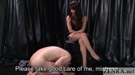 cfnm naked slave kowtow to mistress