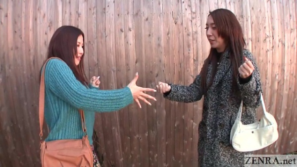 japan strip rock paper scissors game begins