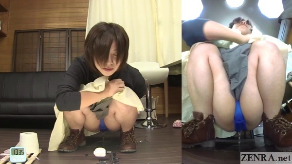 urinating japanese amateur upskirt