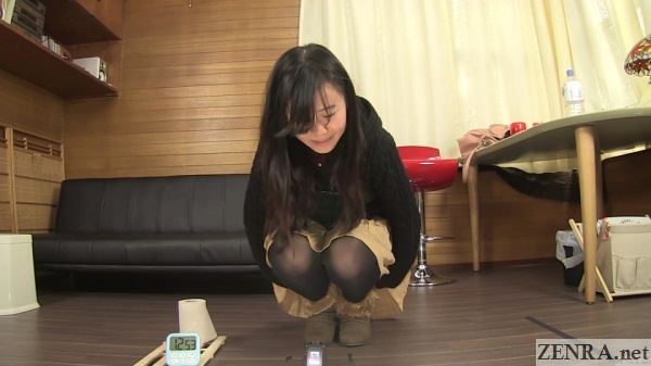 squirming japanese pee desperation